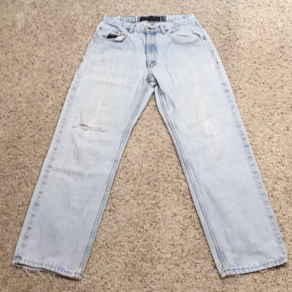 Levi's Denim - women's vintage 90's silver tab destroyed jeans